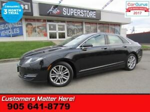 2015 Lincoln MKZ Base  AWD  ROOF LEATHER NAV BS REAR-HS HTD-S/W