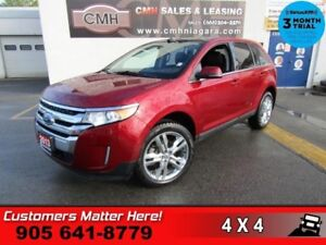 2013 Ford Edge Limited  AWD NAV ROOF P/GATE LEATHER HS 2X-P/SEAT