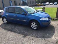 2004 Renault Megane 1.4 DYNAMIQUIE mot June 17
