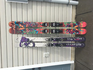 177cm Nordica La Nina w Salomon S912 - mint