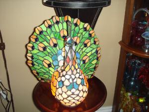Gorgeous Peacock Lamp