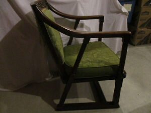 Vintage wooden armchair Kitchener / Waterloo Kitchener Area image 2
