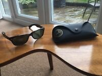 Original Ray Ban New Wayfarer 902 Sunglasses - Tortoise