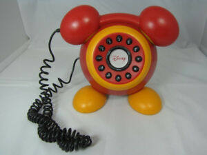 Disney Mickey Mouse Telephone Corded Phone DPH8020-C