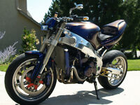 REDUCED! MUST SELL! Unique Kawasaki ZX-9R - Custom Streetfighter