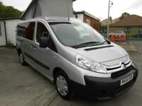 CITROEN DISPATCH BRAND NEW POP TOP CAMPER CONVERSION, IN SILVER, LOW MILES