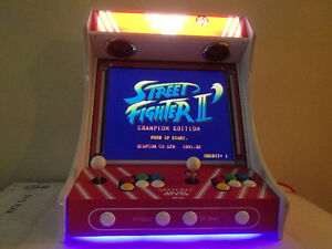 Arcade Bartop with 645 Games! Street Fighter II, Ms Pacman, TMNT