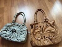 Grey Nine West handbag