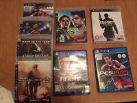 PlayStation 3 & 4 games