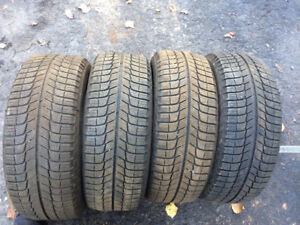 Set of 205/55/16 Michelin x ice winter tires