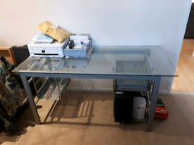 Office table glass top designer