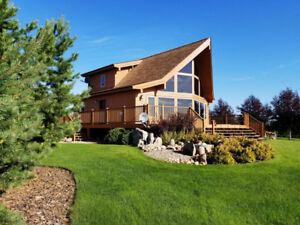Stunning Lake Home at Lac Santé AB PRICE REDUCED!