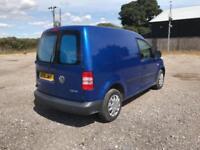 Volkswagen Caddy 1.6 Tdi 75Ps Startline Van DIESEL MANUAL BLUE (2015)