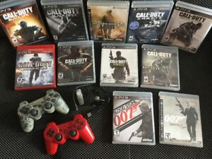 Manettes PS3 /Bluethoot James Bond 007/ Call of Duty