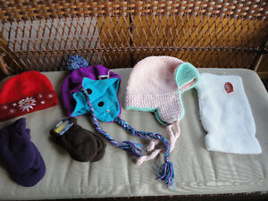 Kids Girls Outerwear Hats & Mitts, Boots