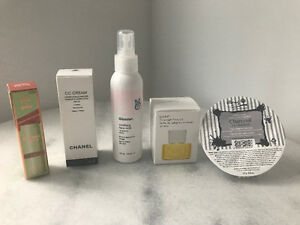 Glossier and Chanel Products and other
