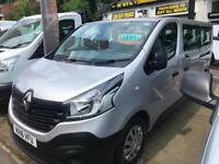 2016 16 RENAULT TRAFFIC EURO 6 LL29 BUSINESS EDITION 9 SEATER MINIBUS