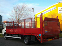 Mitsubishi Canter 7c18 Dropside 19ft Caged sides T/Lift Low mileage 2010/ 10