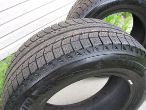 "winter Michelin Latitude x-ice tires 17"" 255's/60r hardly used"