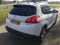 Peugeot 2008 Allure 1.6 e-HDi 92 Stop & Start (white) 2014