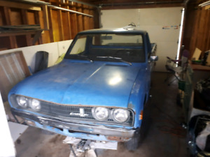 Datsun 620 might trade for motorcycle