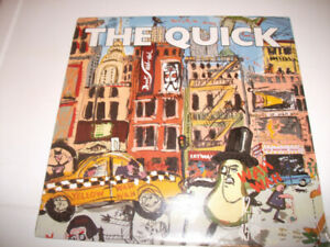 "THE QUICK.DOWN THE WIRE .ORIG' CDN' 12"" 45RPM  RECORD .SEALED."