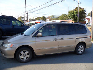 1999 Honda Odyssey VAN-$1800. PRIVATE SALE