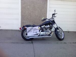 Harley Sportster 1998 -customized xtra pts