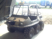 Max ATV 6 wheel amphibious machine