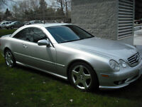 2001 Mercedes-Benz CL-Class 55  AMG Coupe (2 door)