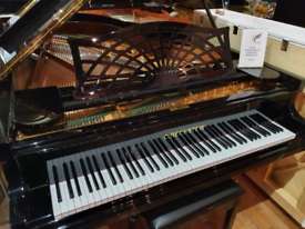 Bechstein model B grand piano black polyester for sale