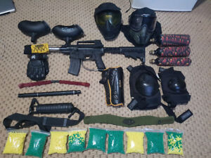 Ultimate paint ball package