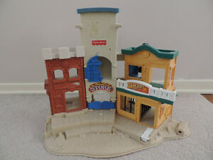 Fisher Price Wild West Town with Figures
