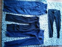 maternity pant lot small and x small
