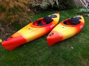 9.5 ft Old Town Heron Kayaks for Sale