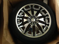 NEW 4 SET 22'' WHEELS AND TIRES FOR Dodge Ram 1500 SRT10 MOUNTED