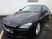 2012 62 BMW 6 SERIES 640D M SPORT COUPE AUTO - BIG SPEC - PX/FINANCE WELCOME