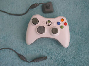 360 wired controller (white).
