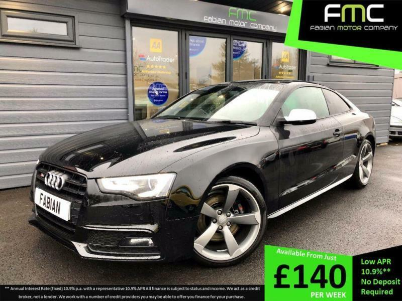 2016 Audi S5 3 0 TFSI 333ps S Tronic quattro Black Edition **B&O - Heated  Seats* | in Swansea | Gumtree
