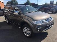 2015 Mitsubishi L200 DI-D 4X4 BARBARIAN LB DCB Diesel brown Manual