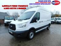 FORD TRANSIT 2.2TDCi 100PS RWD 350 L3H3 1 OWNER AND FULL SERVICE HISTORY