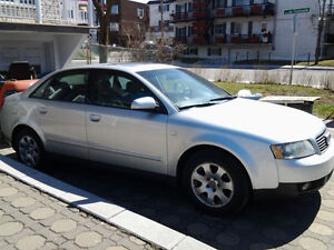 2002 Audi to sell