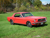 1966 FORD MUSTANG SHOW READY , DRIVE IT HOME !