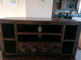 TV unit & coffee table for sale