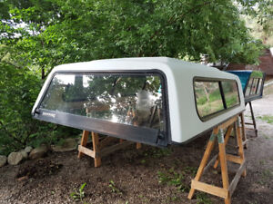 older truck canopy