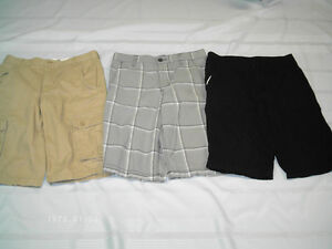 Boys Shorts & Dress Shirts size 16