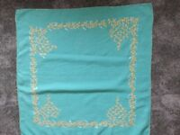 Tablecloths, hand embroidered