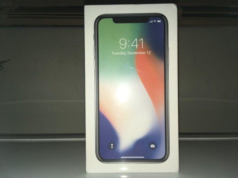 Brand new & sealed Apple iPhone X 256GB - Silver - Unlocked