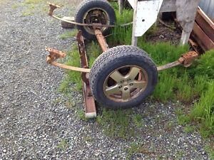 Axle for utility trailer 150.00