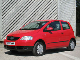 2007 VOLKSWAGEN FOX 1.2 URBAN HATCH - 0NLY 46000 MILES - LOW INSURANCE !!